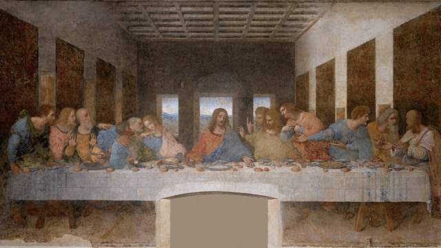 Da Vinci Last Supper Painting Example