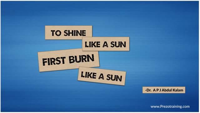 Creative Quote Slide Idea