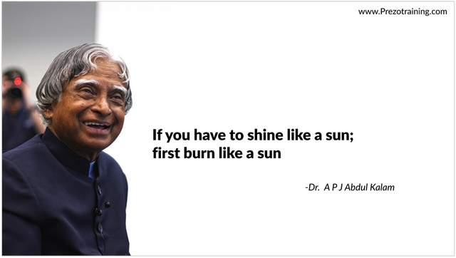 Slide With Quote and Person