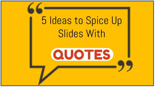 how to add quotes in powerpoint