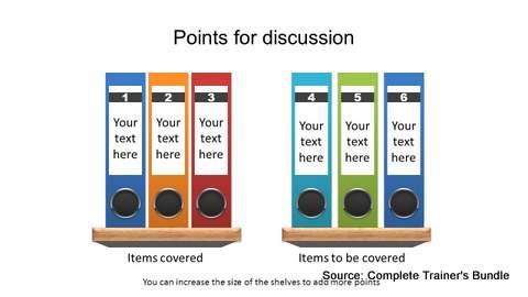 Creative PowerPoint Agenda