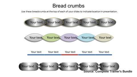 PowerPoint Breadcrumbs
