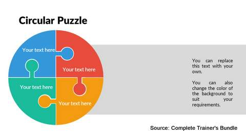 PowerPoint Circular Puzzle