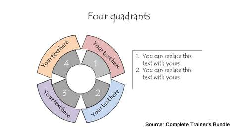 PowerPoint Hand Drawn Wheel Diagram