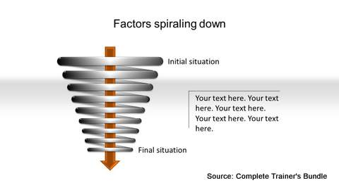 PowerPoint Flow Spiral