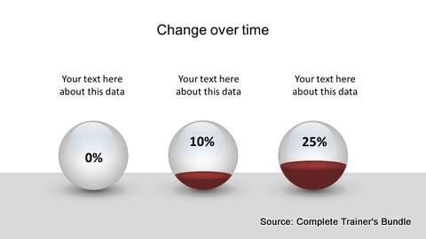 Editable PowerPoint Sphere Infographic