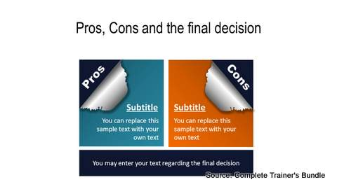 PowerPoint Pros and Cons  Torn Paper
