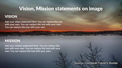PowerPoint Vision and MIssion