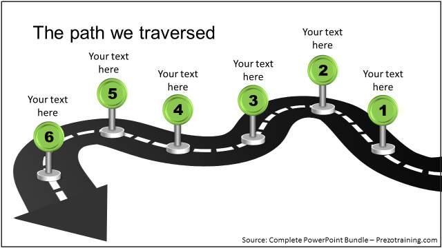 creative-metaphor-in-powerpoint-roadmap-template