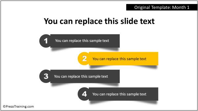 5 easy ways to customize your fresh powerpoint templates prezotraining fresh powerpoint template list toneelgroepblik Image collections