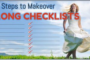Makeover Long Checklist Slides