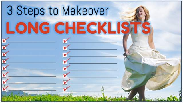 How to Improve a Long Checklist Slide in PowerPoint