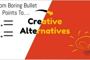 Creative Bullet Point Slide Ideas