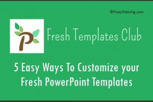 5 Easy Ways to Customize Your Fresh PowerPoint Templates