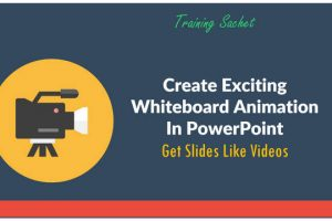 Creating Exciting Whiteboard Animation With PowerPoint: Online Training