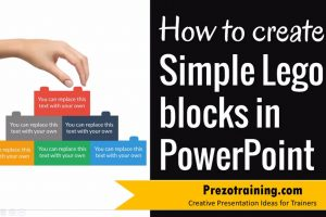PowerPoint Graphic Design Ideas  – How to Create Lego Block