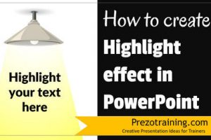 How to Create Highlight Effect in PowerPoint