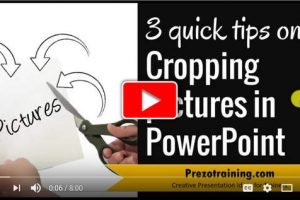 How to easily crop pictures in PowerPoint