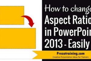 How To Change Aspect Ratio in PowerPoint