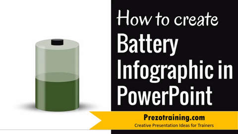 How To Create Battery Infographic in PowerPoint