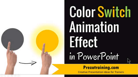 PowerPoint Tutorial for Color Switch Animation
