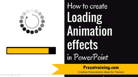 How to Create Loading Animation Effects in PowerPoint