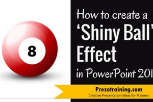 How to create a Shiny Ball Effect  in PowerPoint